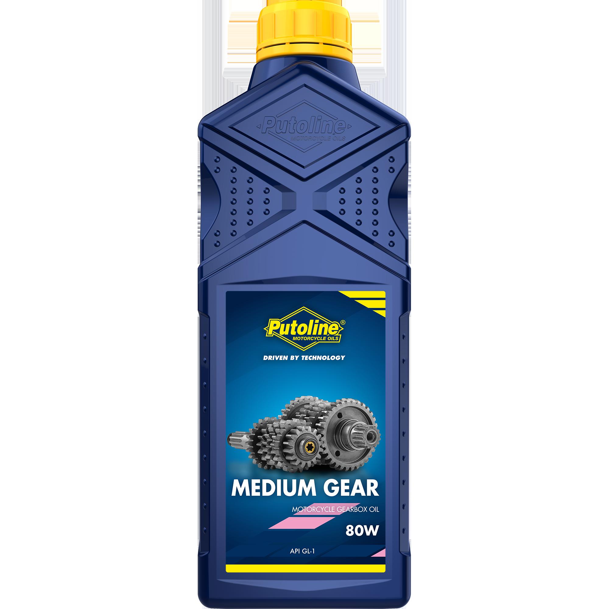 Putoline Getriebeöl Gear Medium SAE 80W 1L