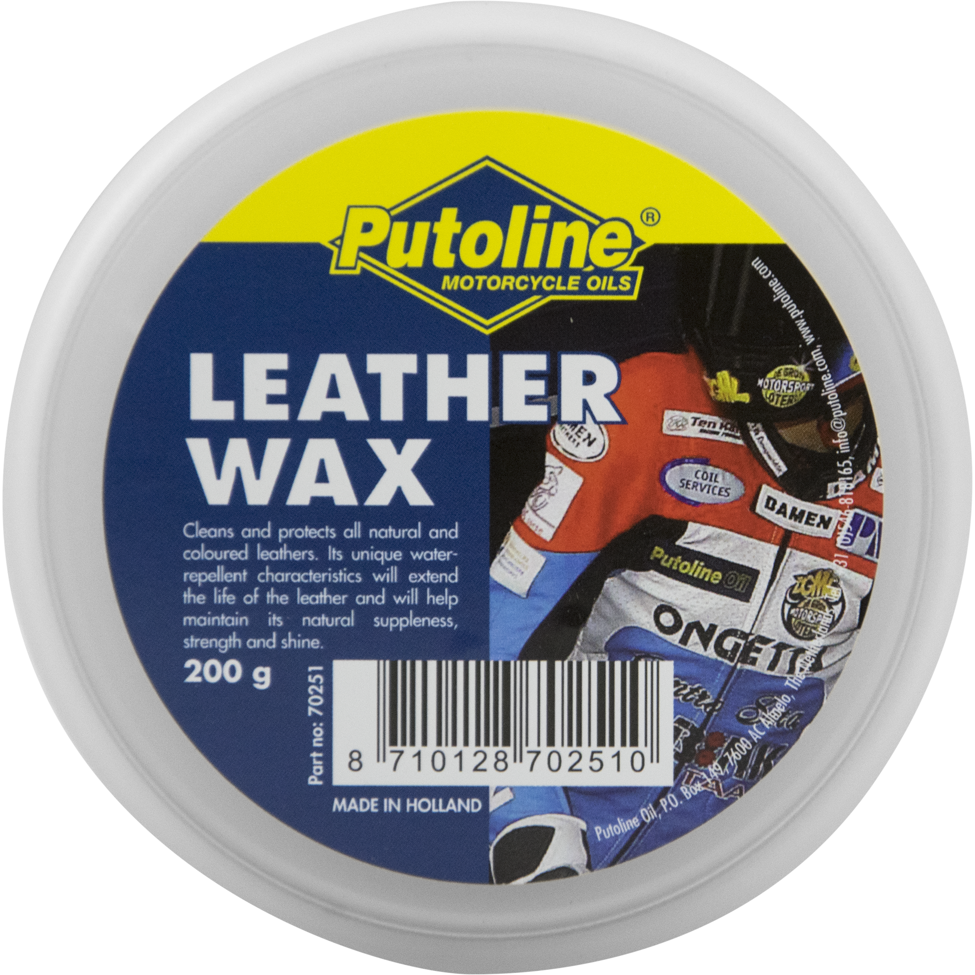 Putoline Leather Wax 200g