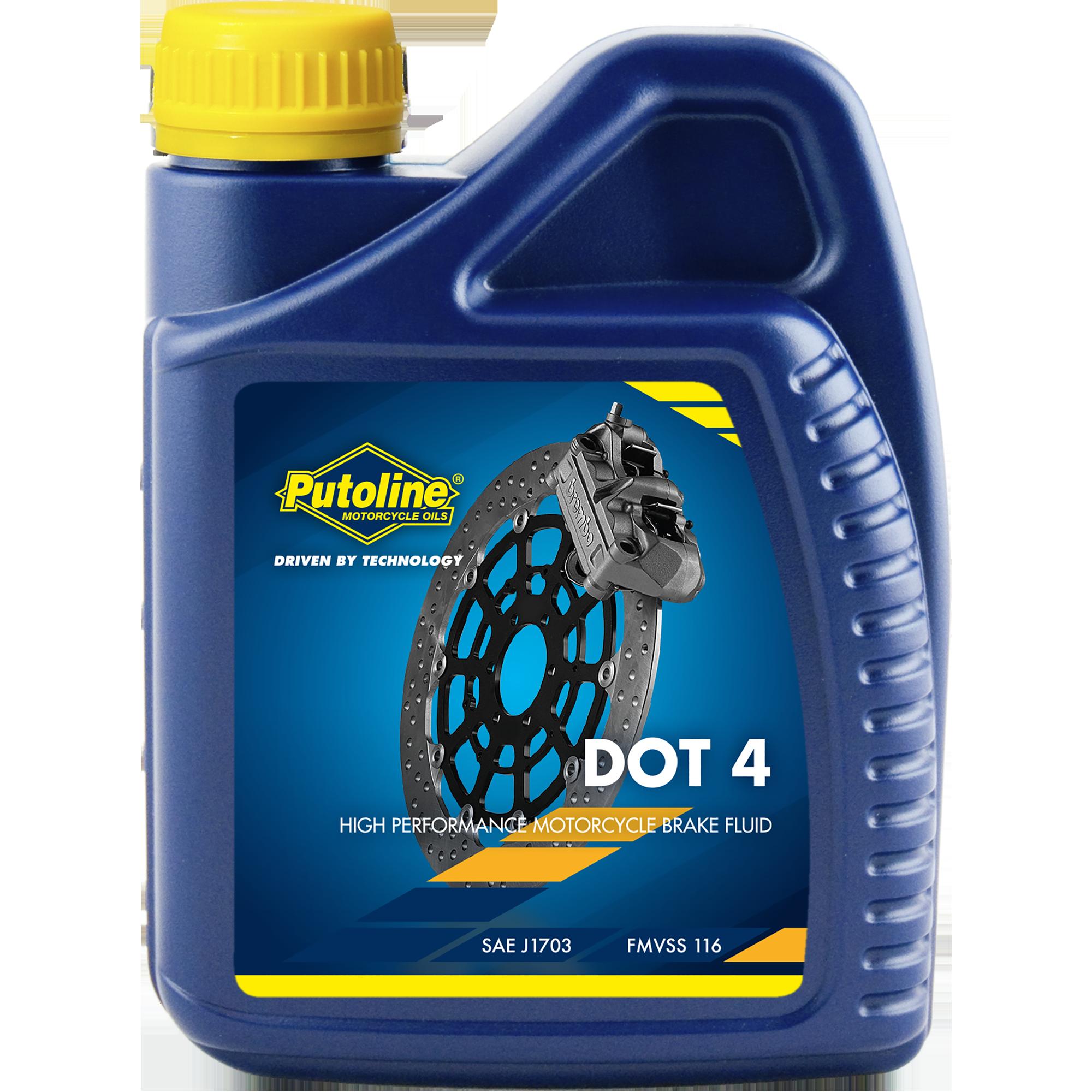 Putoline Bremsflüssigkeit DOT-4 500ml