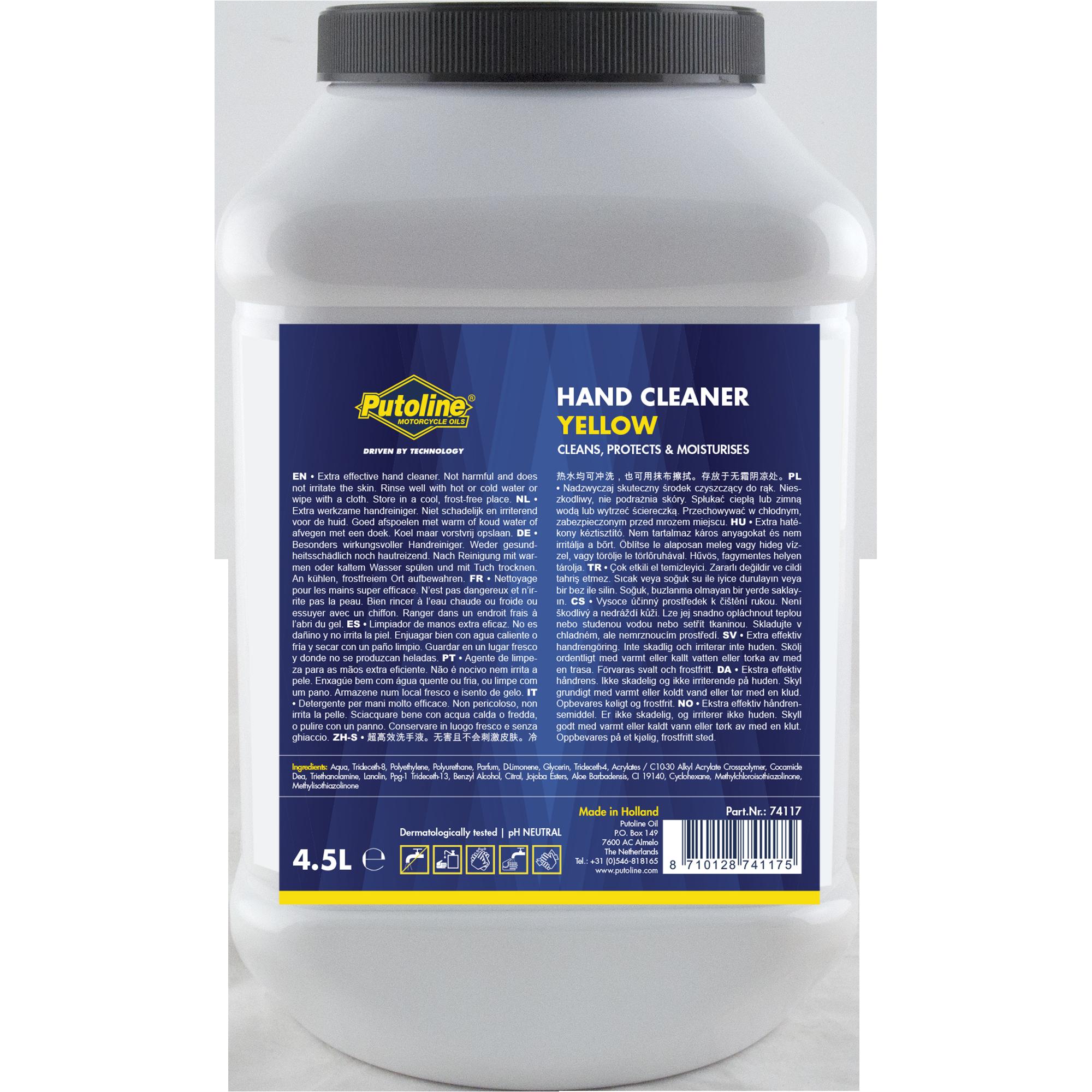 Putoline Hand Cleaner Yellow 4,5L