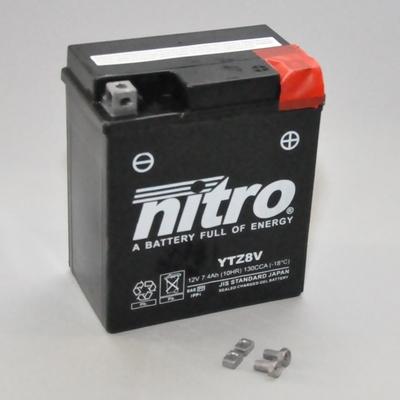 Batterie NITRO NTZ8V SLA (WC) Gel