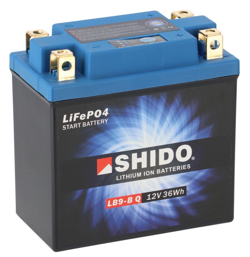 Batterie SHIDO LB9-B Q Lithium Ion