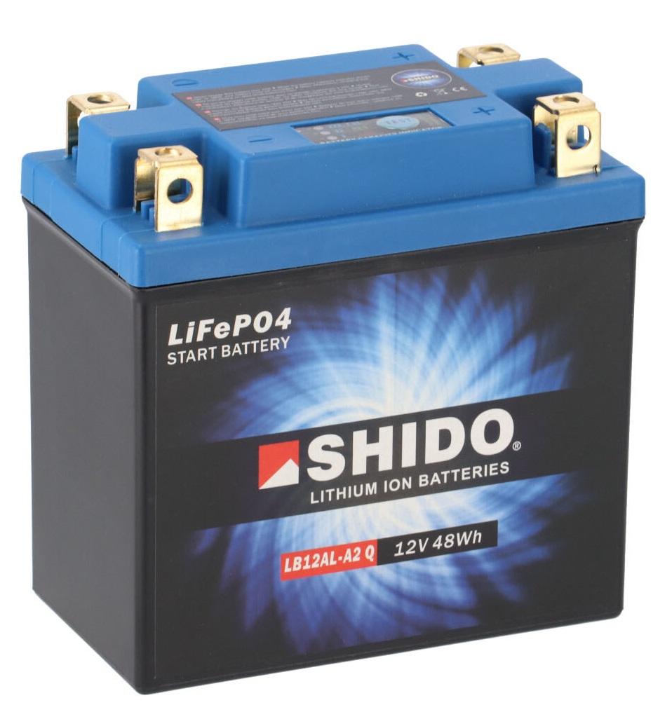 Batterie SHIDO LB12AL-A2 Lithium Ion