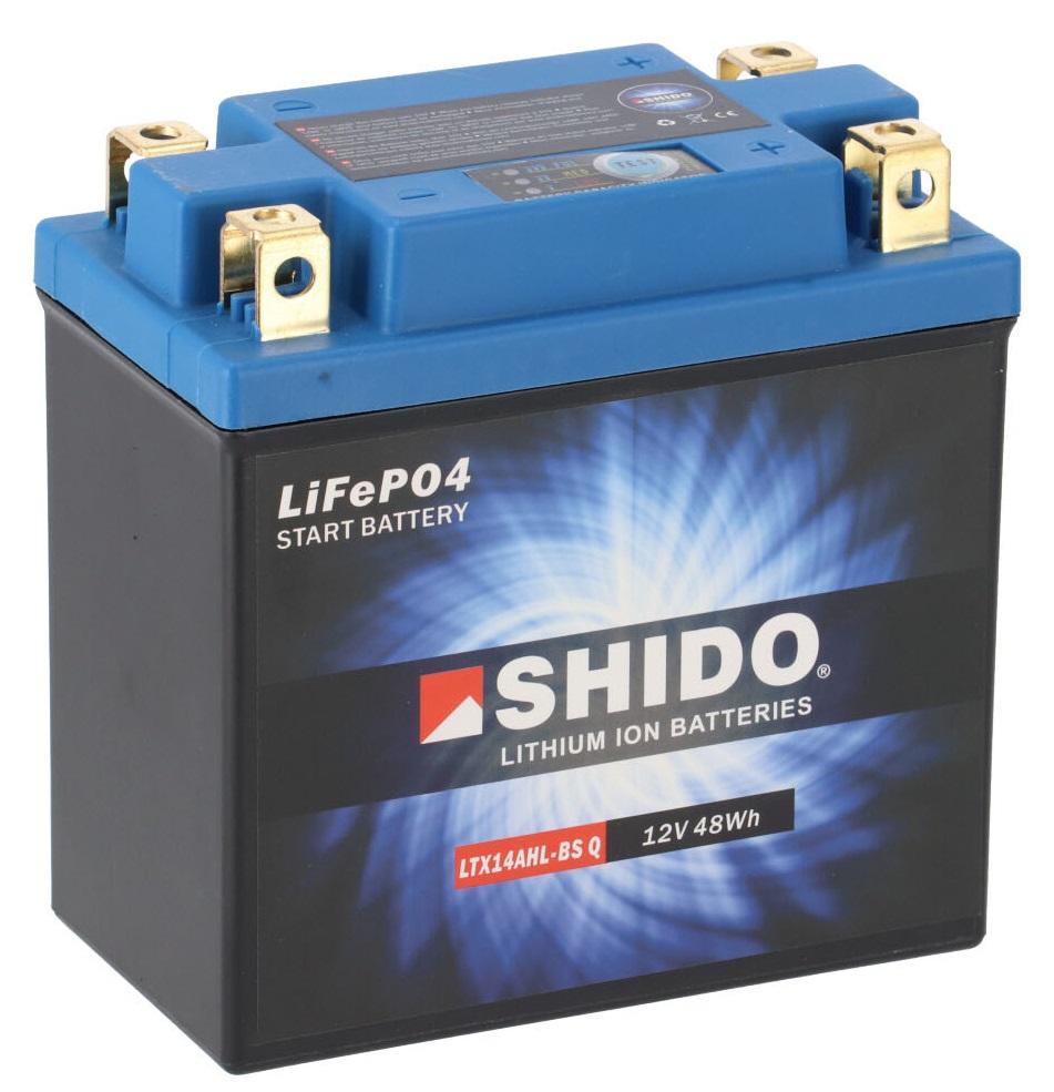 Batterie SHIDO LTX14AHL-BS Q Lithium Ion