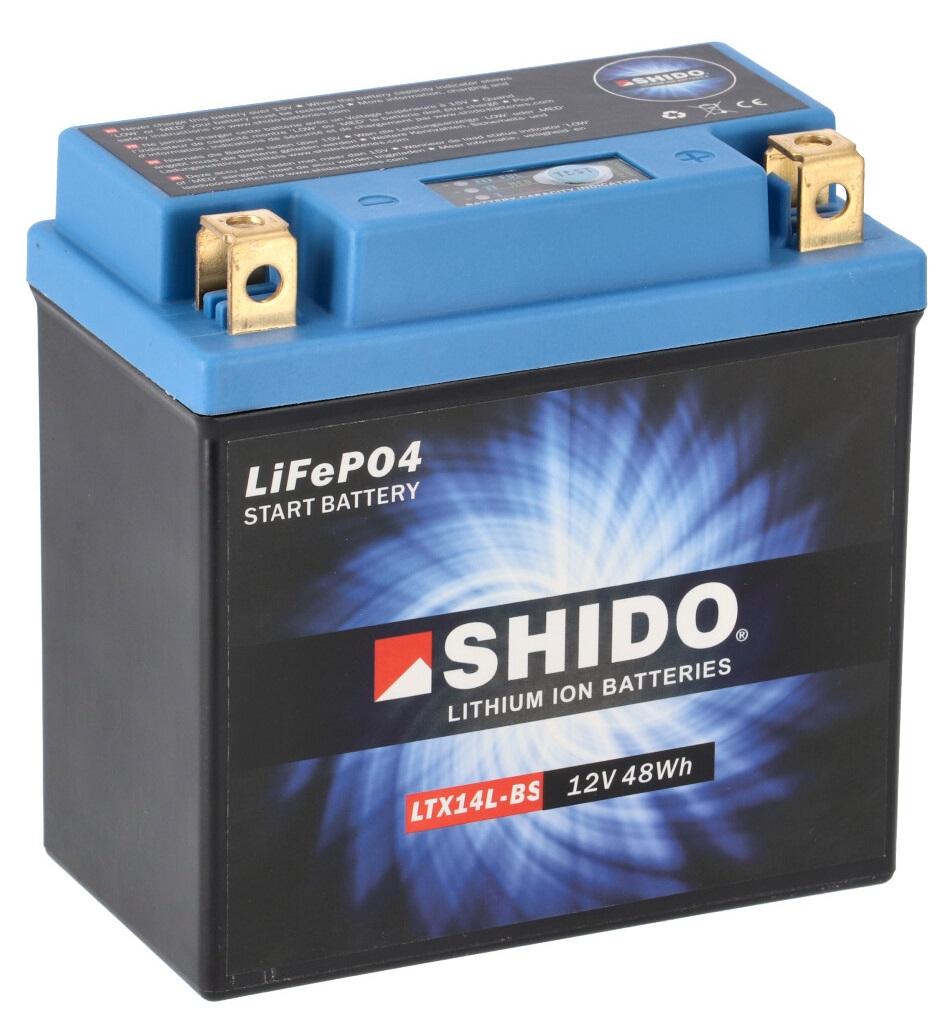 Batterie SHIDO LTX14L-BS Lithium Ion