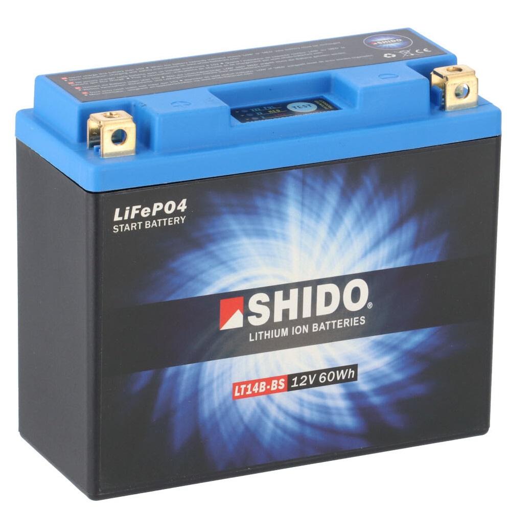 Batterie SHIDO LT14B-BS Lithium Ion