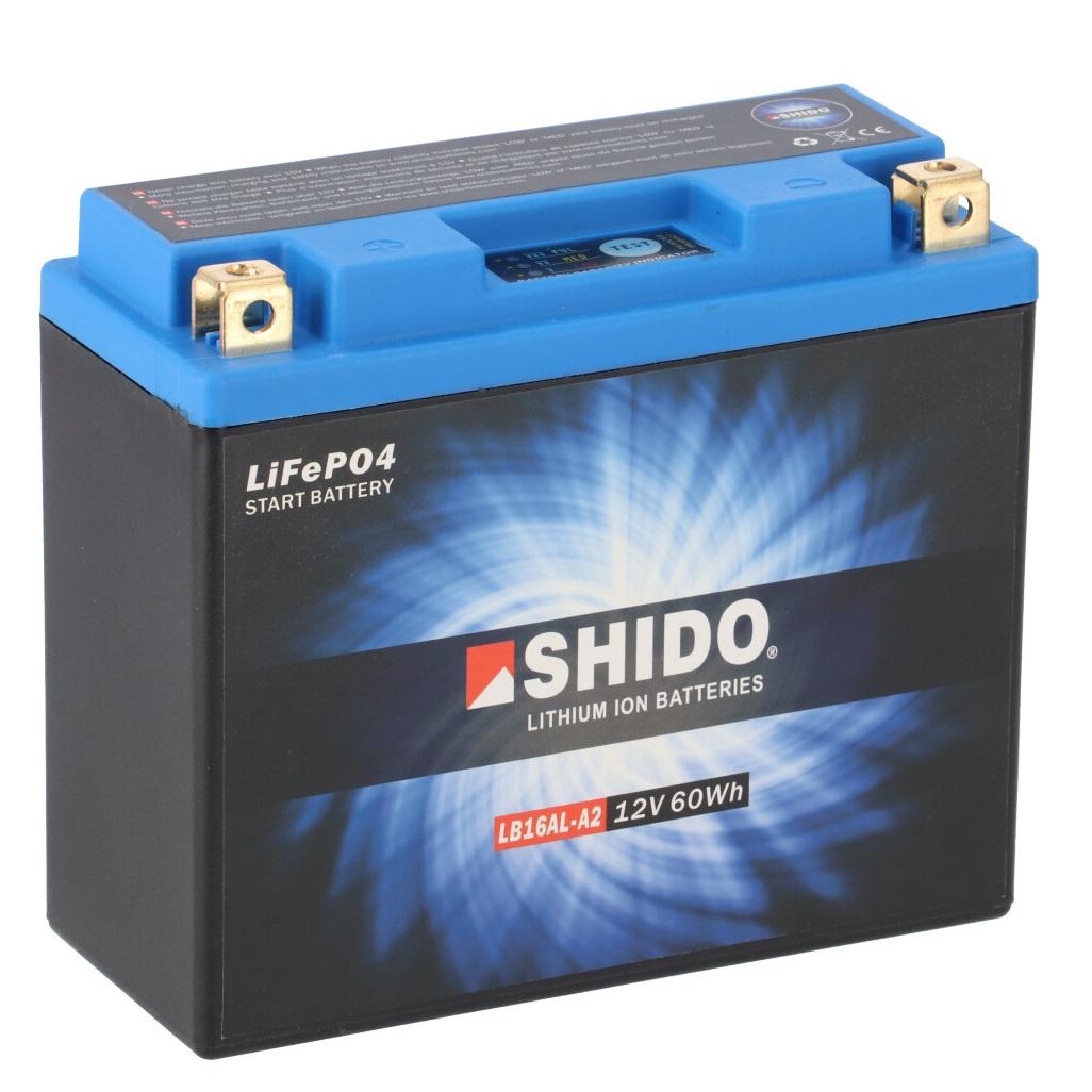 Batterie SHIDO LB16AL-A2 Lithium Ion
