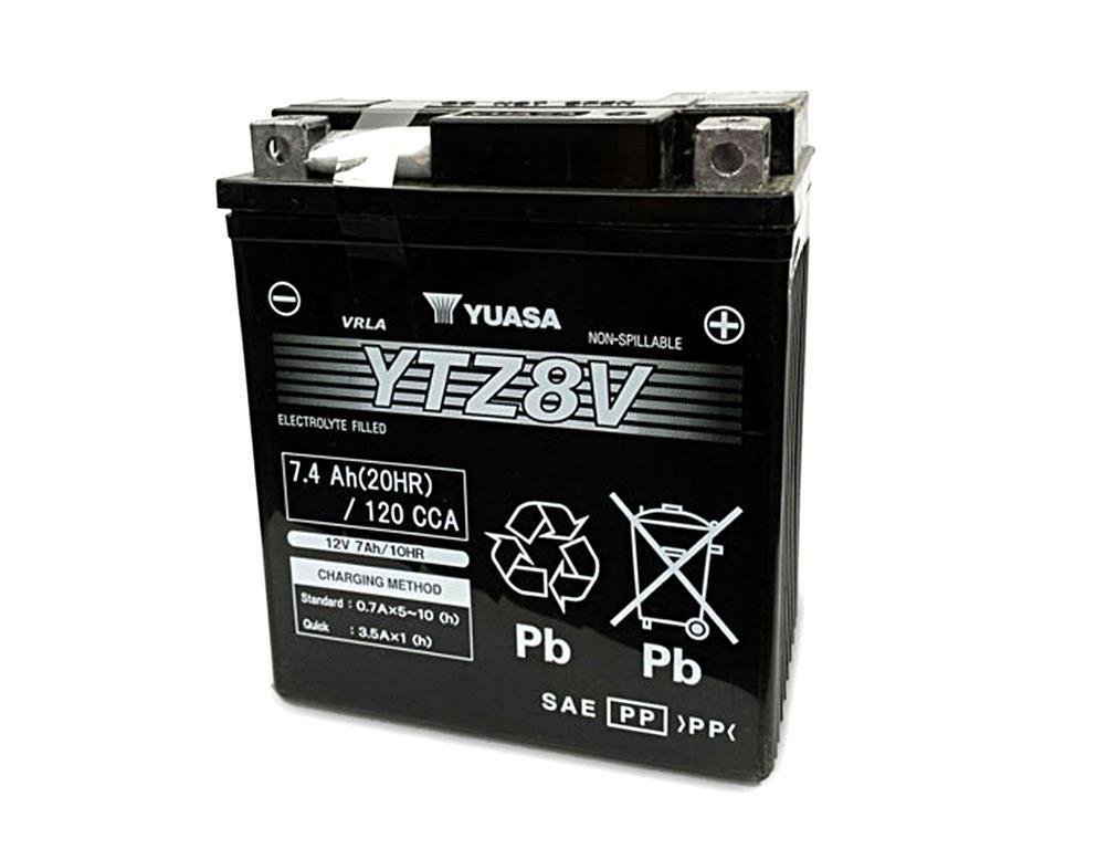 Batterie YUASA YTZ8V (WC) geschlossen