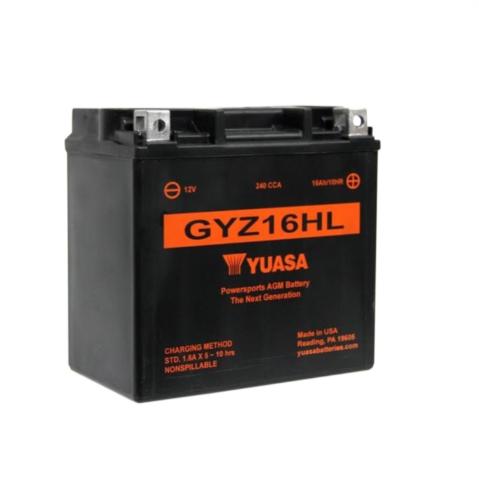 Batterie YUASA GYZ16HL (WC) geschlossen