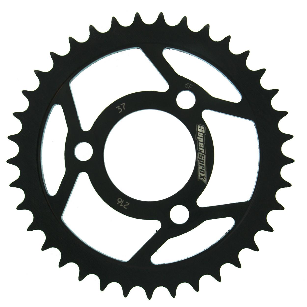 Stahl-Kettenrad Supersprox 420 - 37Z (schwarz)