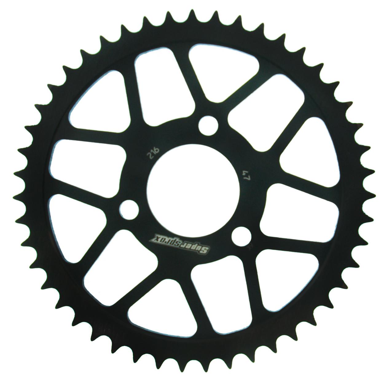 Stahl-Kettenrad Supersprox 420 - 47Z (schwarz)