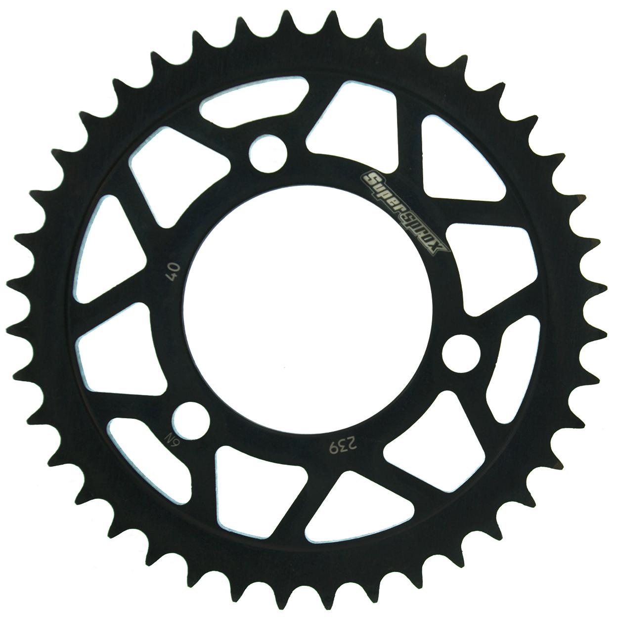 Stahl-Kettenrad Supersprox 420 - 40Z (schwarz)
