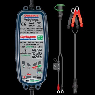 Batterieladegerät OptiMATE Lithium 4S 0.8A