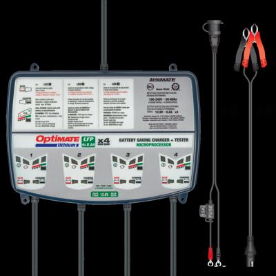 Batterieladegerät OptiMate Lithium Quad Bank