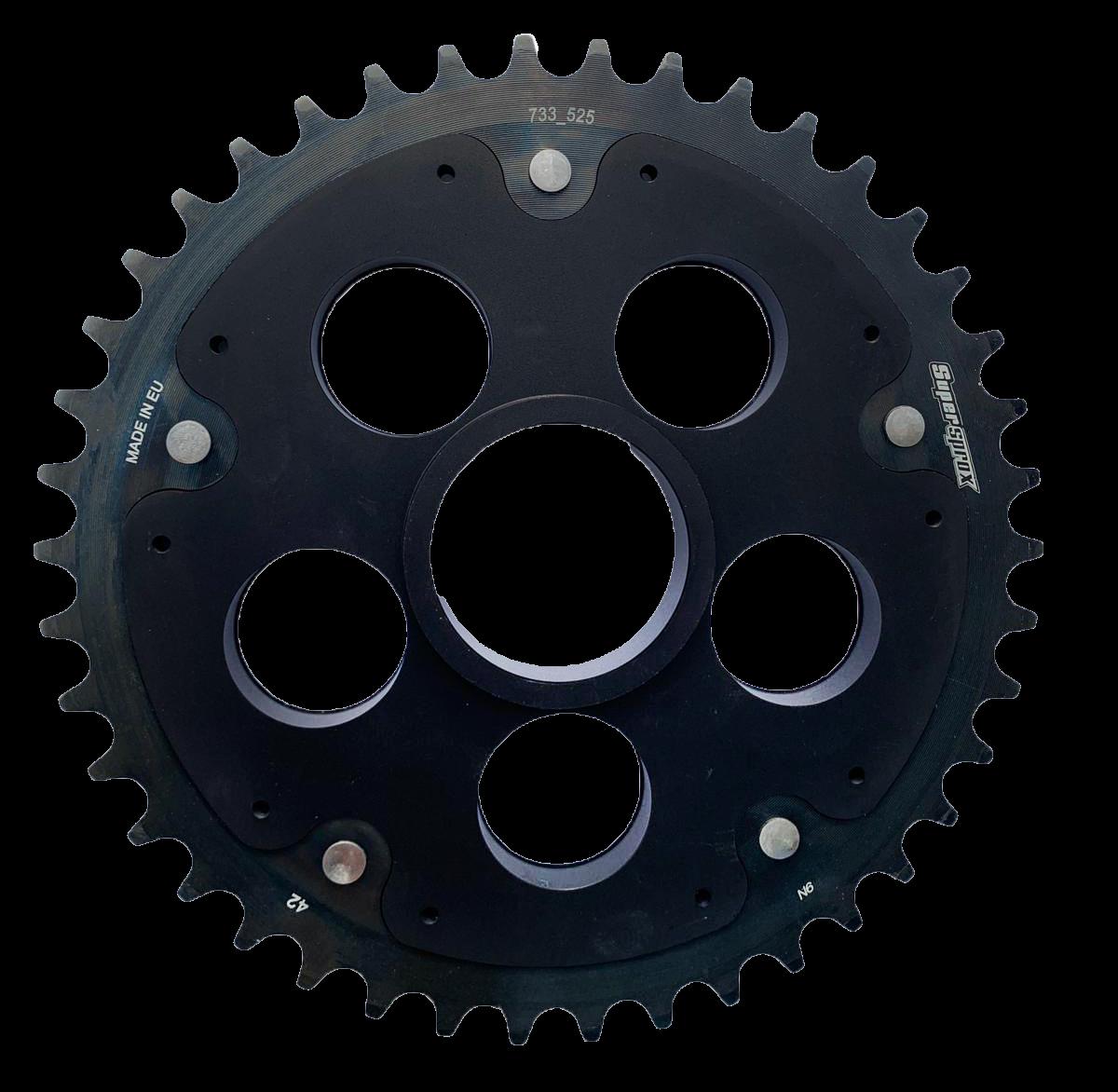 Edge-Kettenrad Supersprox 525 - 38Z (schwarz)