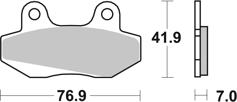 Scooterbelag SBS 103CT