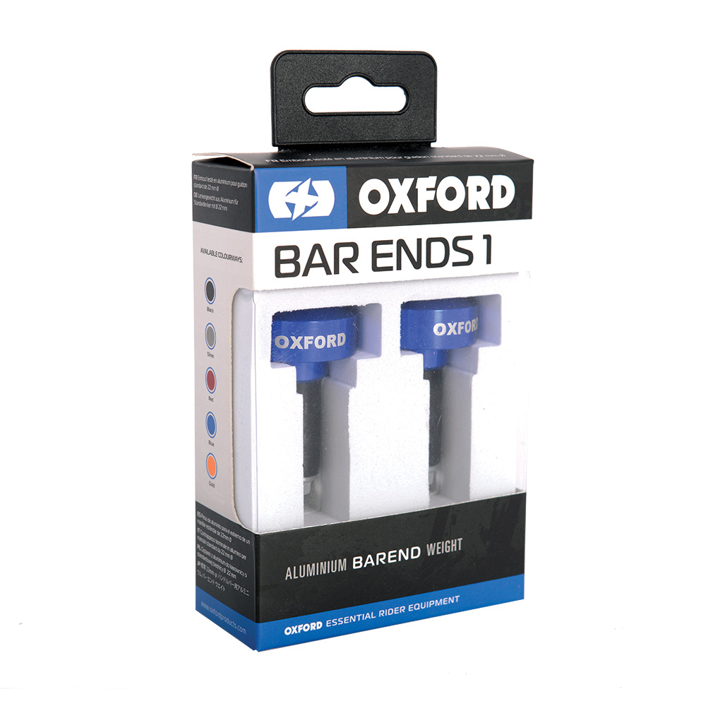 Lenkerenden Bar Ends 1 Blau